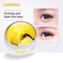 LANBENA masque visage rétinol collagène yeux Patch Gel Anti-âge rides hydratant serrer décolorer les ridules sous les yeux soins de la peau