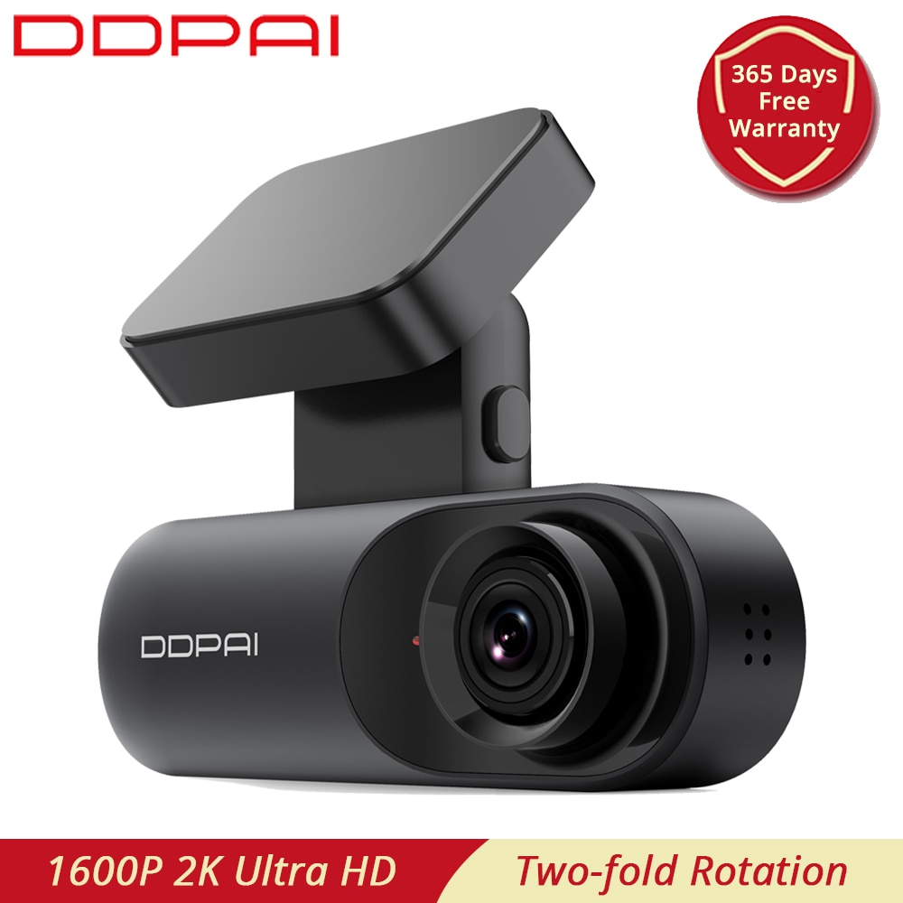 DDPAI-كاميرا لوحة القيادة Mola N3 ، مسجل فيديو السيارة ، DVR ، Wifi ، وقوف السيارات على مدار 24 ساعة ، 1600P 2K ، Ultra HD