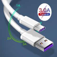 Оригинальное зарядное устройство USB Type-C для телефона Honor 10 9 V20 Magic 2 USBC, кабель для быстрой зарядки для Samsung S10 A9S A9 Star S8 S9