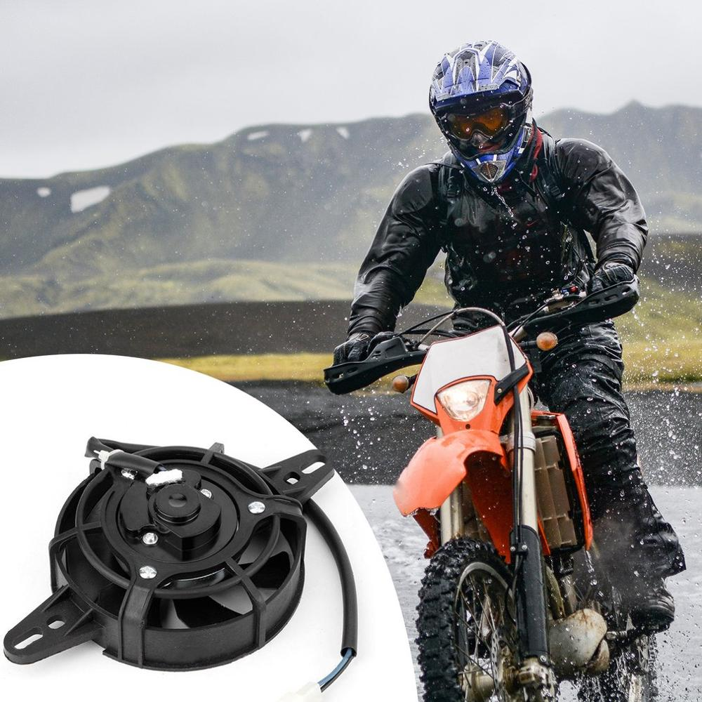 motorcycle engine oil cooler radiator system for gn125 en125 en150 gz125 gz150 dr200 qm200 gn gs gsx en tu dr 125 150 200cc 200Cc250Ccatv Motorcycle Modified Electric Radiator Cooling Fan Oil Cooler Water Cooler Electric Radiator Cooling Fan