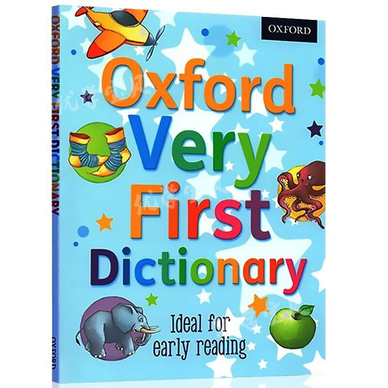 Фото - Oxford Very First Dictionary  Illustrated Dictionary Of Enlightenment Pictures Book Young Children English Early Learning Book my first english pict dictionary the school