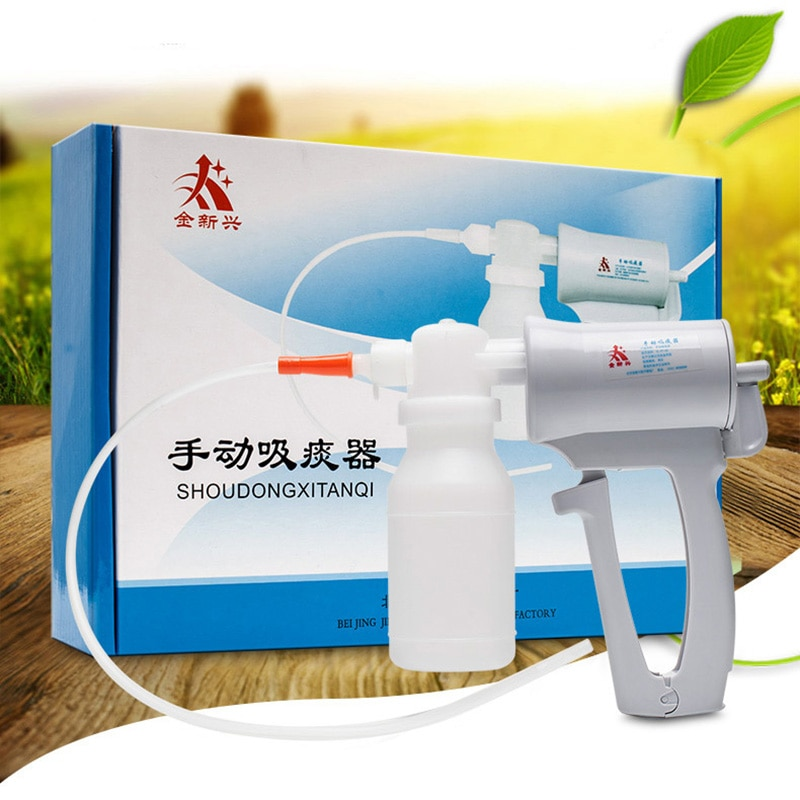 Manual Sputum Aspirator For Home Hand held sputum suction medical-devices care aspirador flemas Pump
