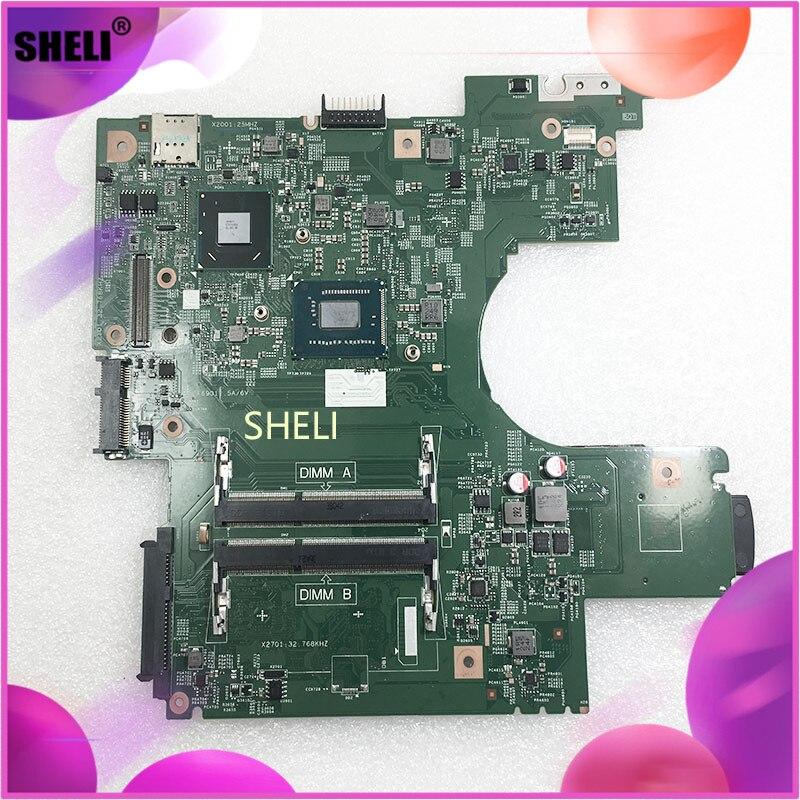 SHELI For Dell Latitude 3330 CN-0Y2NFH 0Y2NFH Y2NFH w 1007U CPU 8G44H Laptop Mainboard Tested
