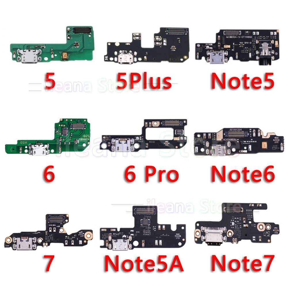 Оригинальный USB Дата зарядный порт зарядное устройство док-станция гибкий кабель для xiaomi mi красный mi Note 5 5A 6 7 Plus Pro глобальная Замена