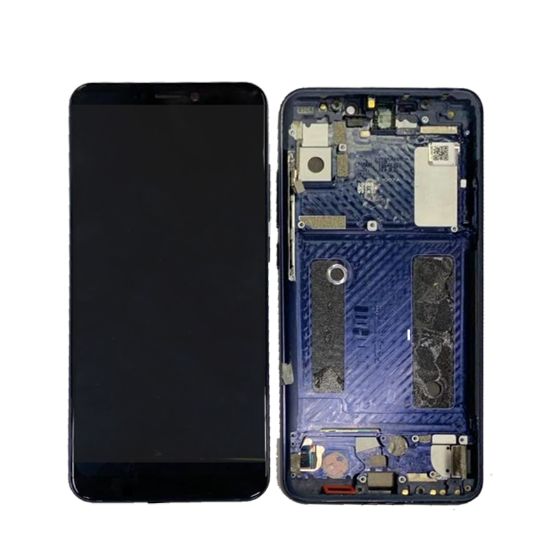 Amoled For ZTE Axon 9 Pro LCD Display Touch Screen Digitizer Repair Parts For ZTE Axon 9 Pro Screen LCD Display With Frame enlarge