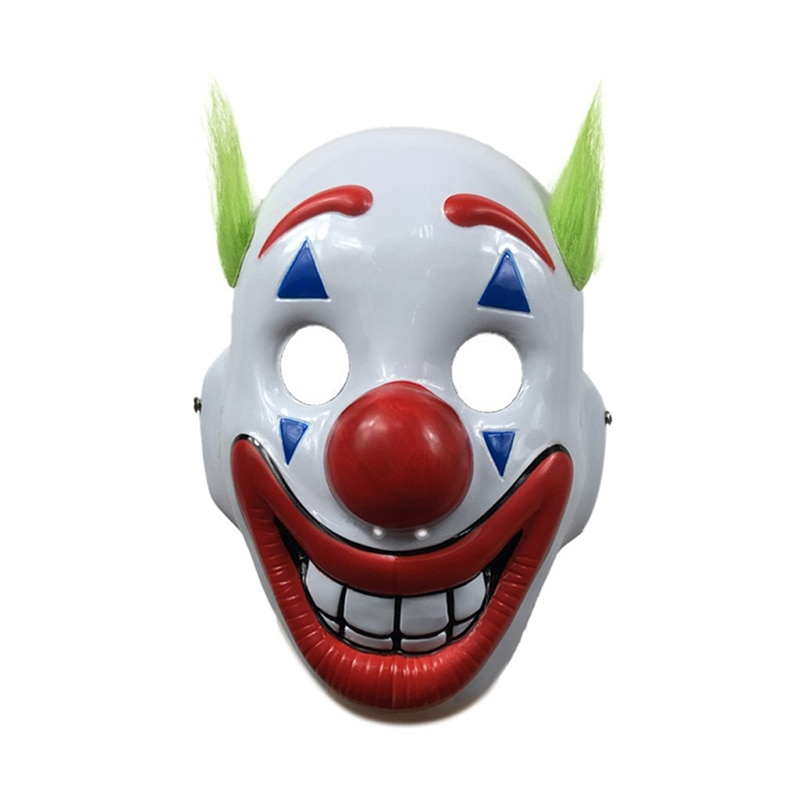 free shipping halloween children s clown costume masquerade performance clothing stage circus clown comedy costume boy cosplay Joker Mask Clown Halloween Party Cosplay Costume Props Joker Arthur Fleck Cosplay Mask Clown Masquerade Halloween Scary Masks