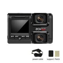 Black Night Vision Inside Outside 360 Degree Parking Car DVR Plastic HD Recorder Video Mini Dash Camera WIFI Dual Lens
