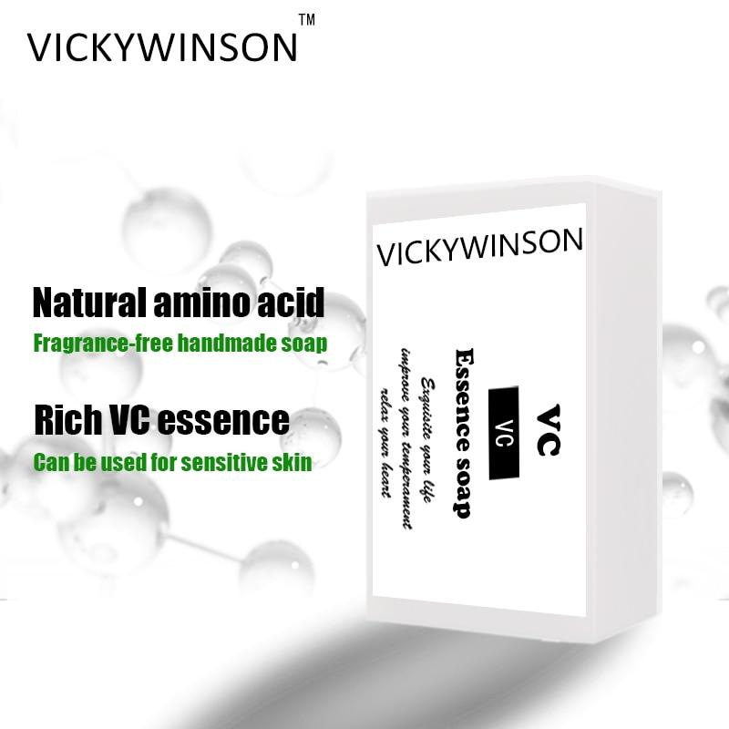 VICKYWINSON VC эссенция, аминокислотное мыло 50 г, мыло для лица ручной работы, мыло для очистки кожи, мыло, органическое мыло, натуральное мыло