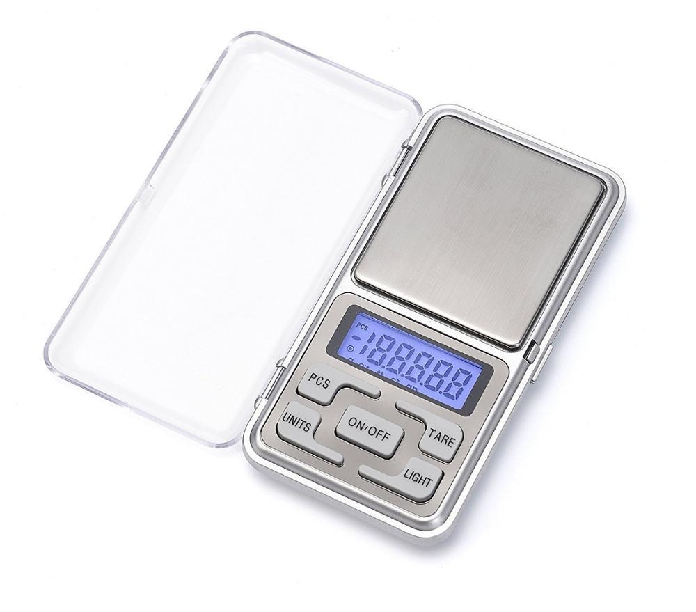 Mini Scale 500g/300g/200g/100g X 0.01g /0.1g Accuracy Electronic Digital Precision Jewelry Scales Po