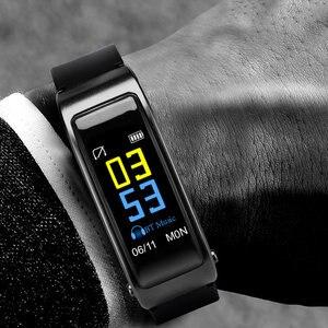 Image 3 - Многофункциональный Умный Браслет 2 в 1 с Bluetooth наушниками вкладышами, монитором сердечного ритма, водонепроницаемыми часами для занятий спортом на открытом воздухе и сна