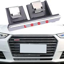 1-10 pièces gril avant de voiture pour Sline emblème plaque signalétique pour Audi A4L A6L A1 A3 Q5 A5 S ligne Logo Badge accessoires de réseau