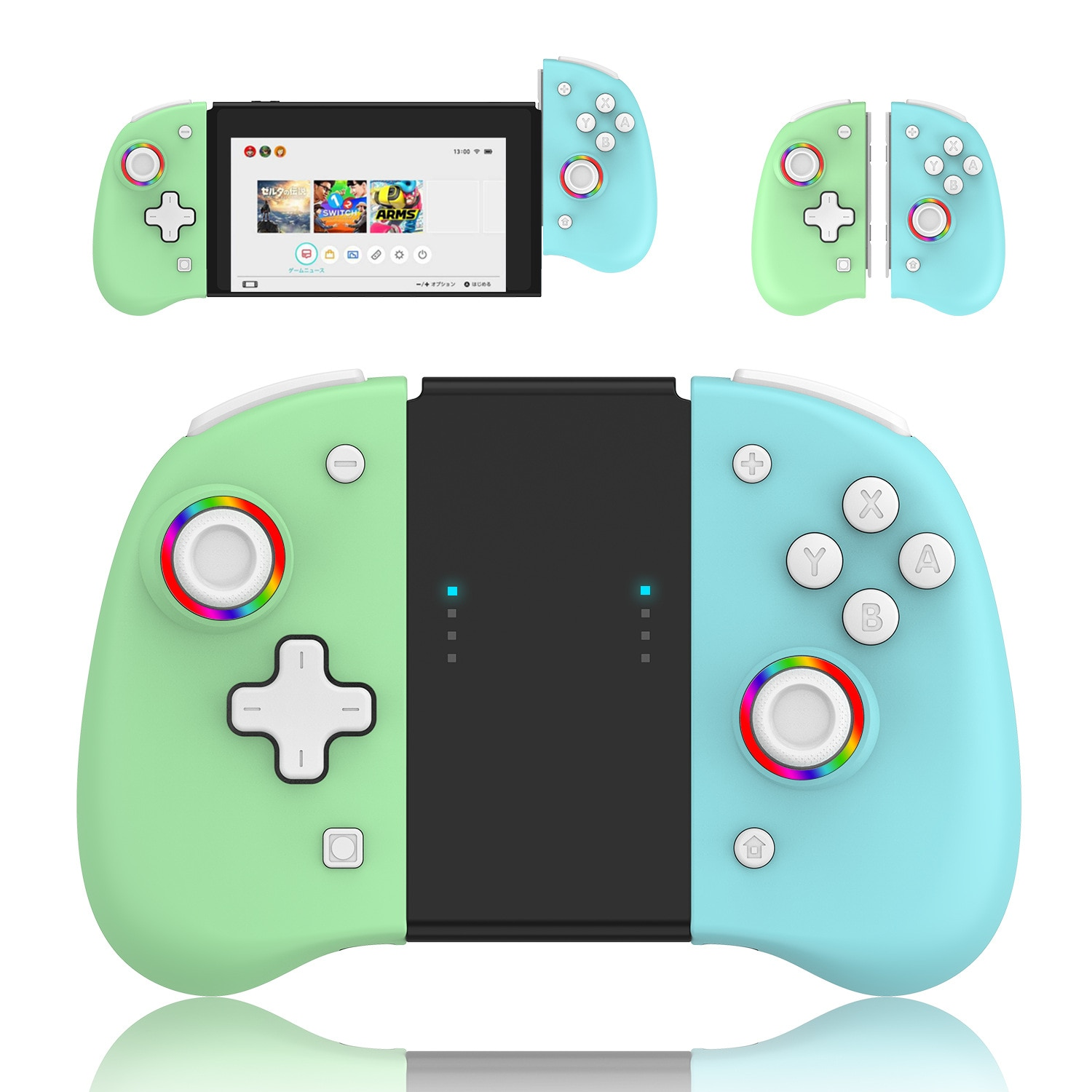 Travelcool Manette Switch Sans Fil Left & Right Wireless Gamepad control NS Game Handle Grip for Nintendo Switch Controller