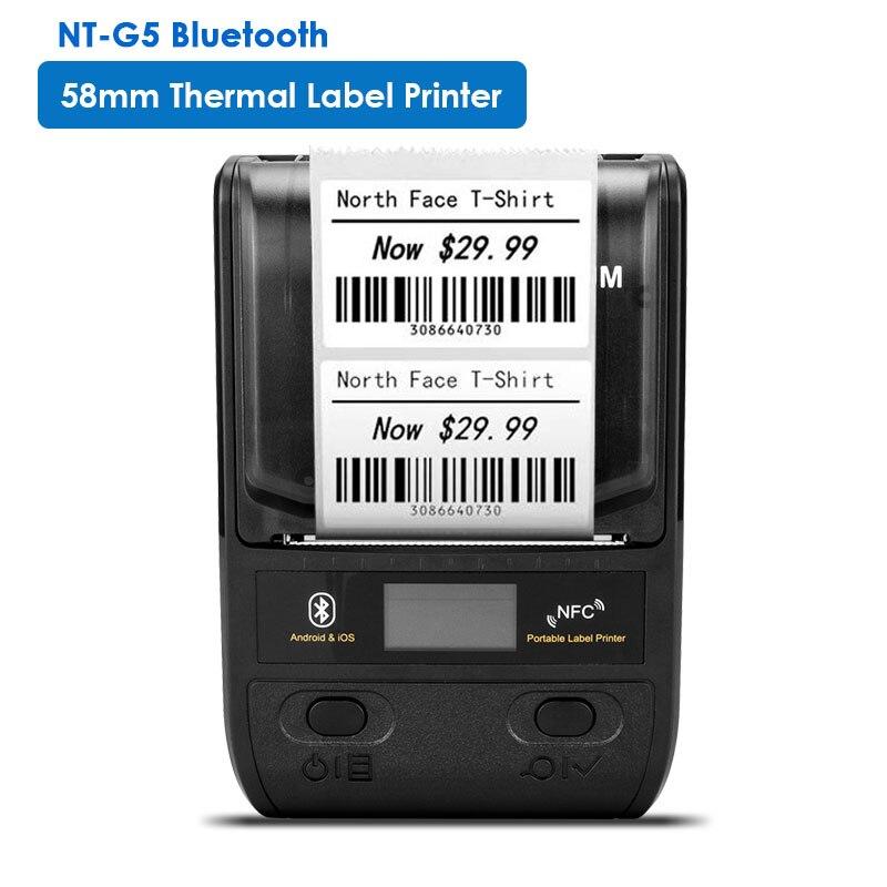 NETUM Label Maker термальный принтер этикеток 108 мм 4