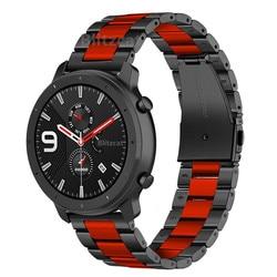 Uhrenarmbänder Armband Edelstahl Ersatz Metall Armband Für AMAZFIT GTR 47 MM/Amazfit Stratos 2 2S Tempo Smart uhr Band