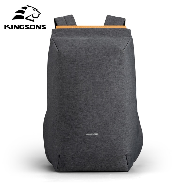 Kingsons-多機能ラップトップバックパック,USB充電付きの新しいバックパック,盗難防止バックパック,防水,旅行,ランドセル,ファッショナブル,15.6