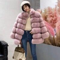 hot sale faux fur coat women winter new long slim fox fur coat mandarin collar faux fur coat luxury female %d0%b6%d0%b5%d0%bd%d1%81%d0%ba%d0%be%d0%b5 %d0%bf%d0%b0%d0%bb%d1%8c%d1%82%d0%be