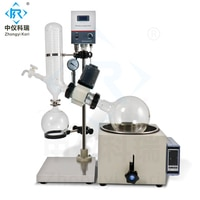 3l small lab glassware Heating Vacuum Rotary evaporator