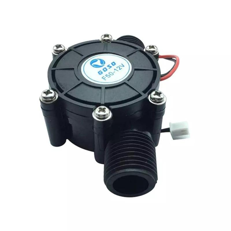 Generador de turbina de agua hidroeléctrica de 10W 12V, generador de energía LED DIY, generador eléctrico