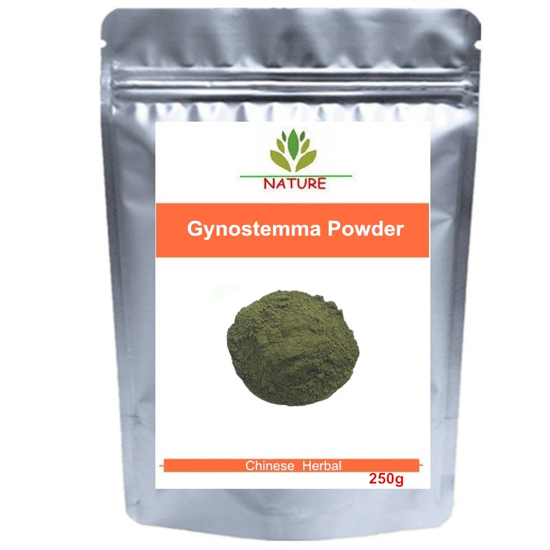 Jiaogulan Tee Sieben blatt Gynostemma Pentaphyllum Pulver