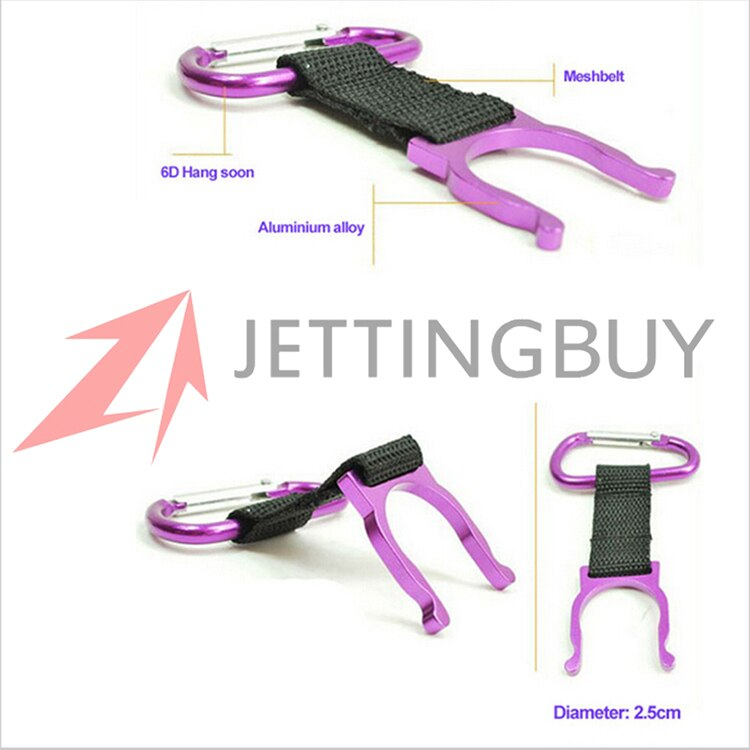 1pc camping Climbing Carabiner Water Bottle Buckle Hook Holder Clip For Camping Hiking survival Traveling tools