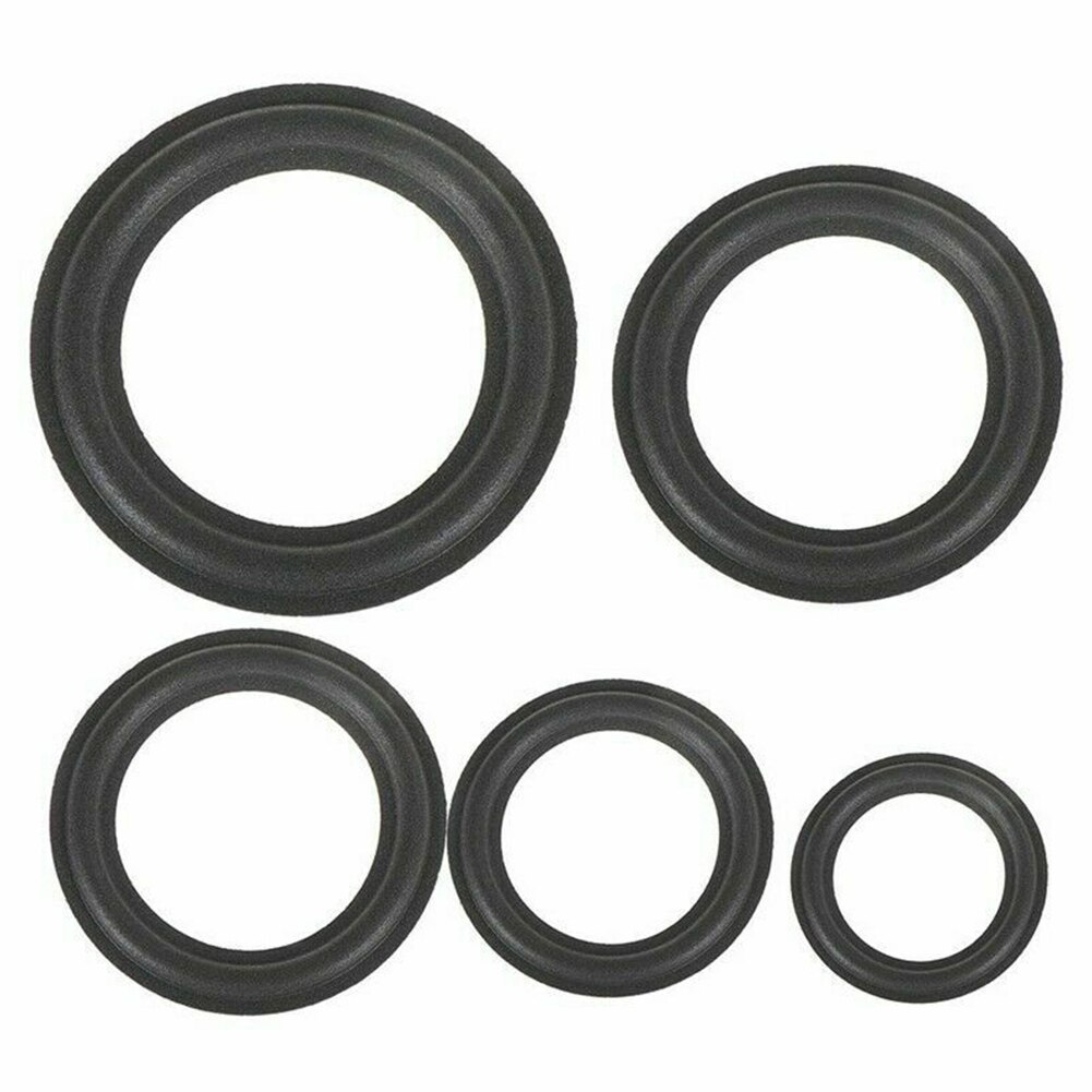 Bocina de goma de espuma envolvente DIY a prueba de polvo reemplazo altavoz accesorios borde anillo Durable Woofer Universal partes plegables