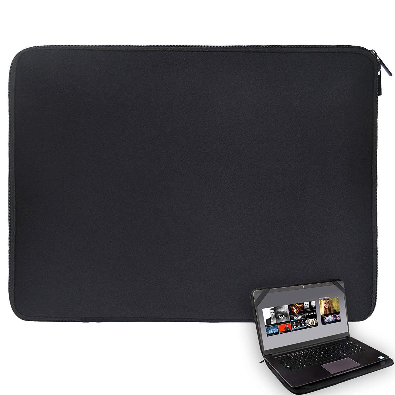 "14 ""твердый черный ноутбук рукав сумка водонепроницаемый неопреновый чехол с 4 Strps для 14,1"" HP Dell Thinkpad Lenovo Acer Toshiba"