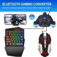 USB проводной/беспроводной Bluetooth геймпад PUBG, игровой контроллер, игровой конвертер, адаптер для PUBG Peace Elite