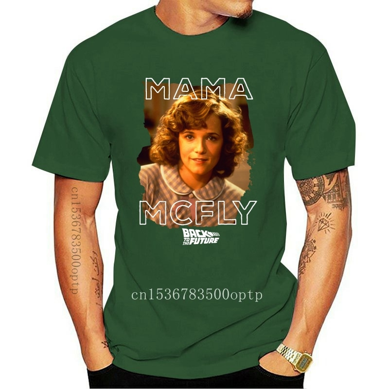 New Back to the Future Mama McFly Adult T-Shirt