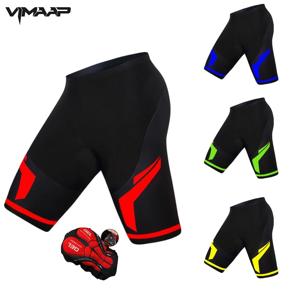 Shorts de Bicicleta Ciclismo à Prova de Choque para o Homem Coolmax Acolchoado Ciclismo Shorts Mtb Estrada Ropa Mulher 2022 5d