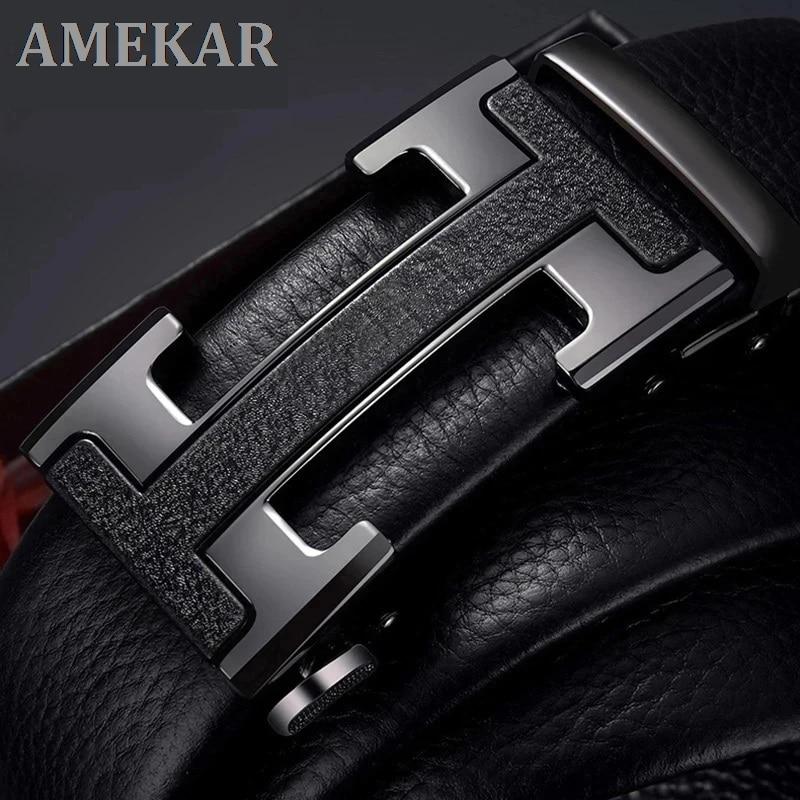 New Male Belt Designer Men's Belts Luxury Man Fashion belt Luxury Brand For Men High Quality Automat