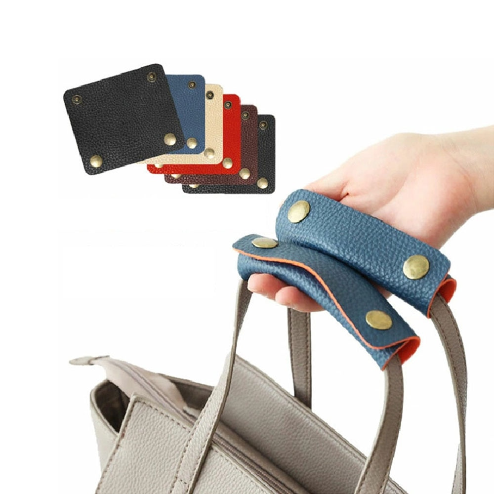 1 Pcs New Luggage Handle Protection Pu Leather Anti-strap Leather Pad Travel Protective Luggage Bag
