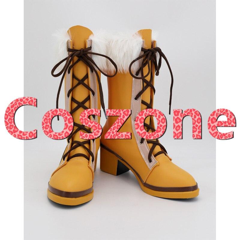 ¡Sueño de estallido! Zapatos de Cosplay de Aoba Moca, botas para Halloween, Carnaval, accesorios para disfraces