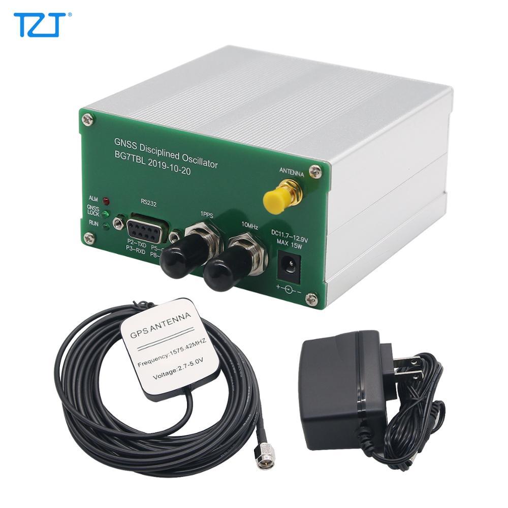 TZT GPSDO GNSSDO GNSS ساعة متذبذبة منتصبة مع إخراج 10 ميجا هرتز دعم GPS/BDS/GLONASS/GALILEO