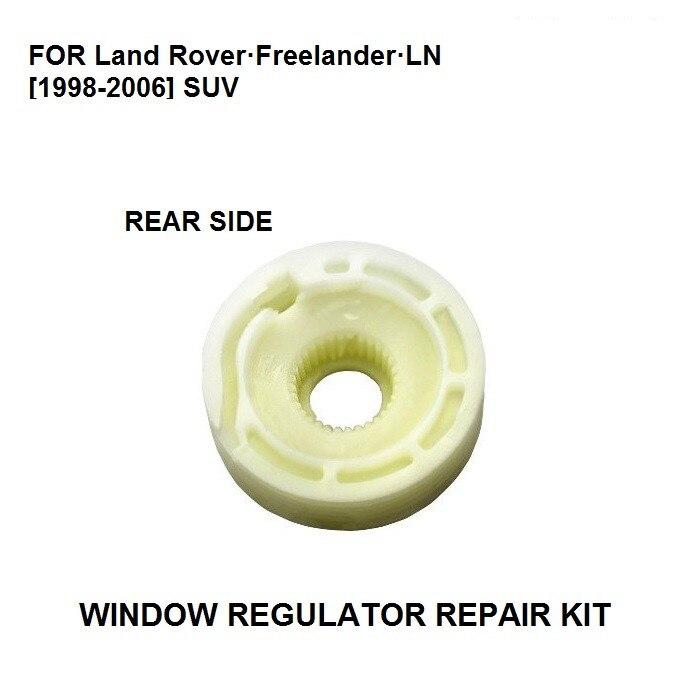 Rodillo regulador de ventana de coche para LAND ROVER FREELANDER, portón trasero 1998-2006, lado derecho e izquierdo