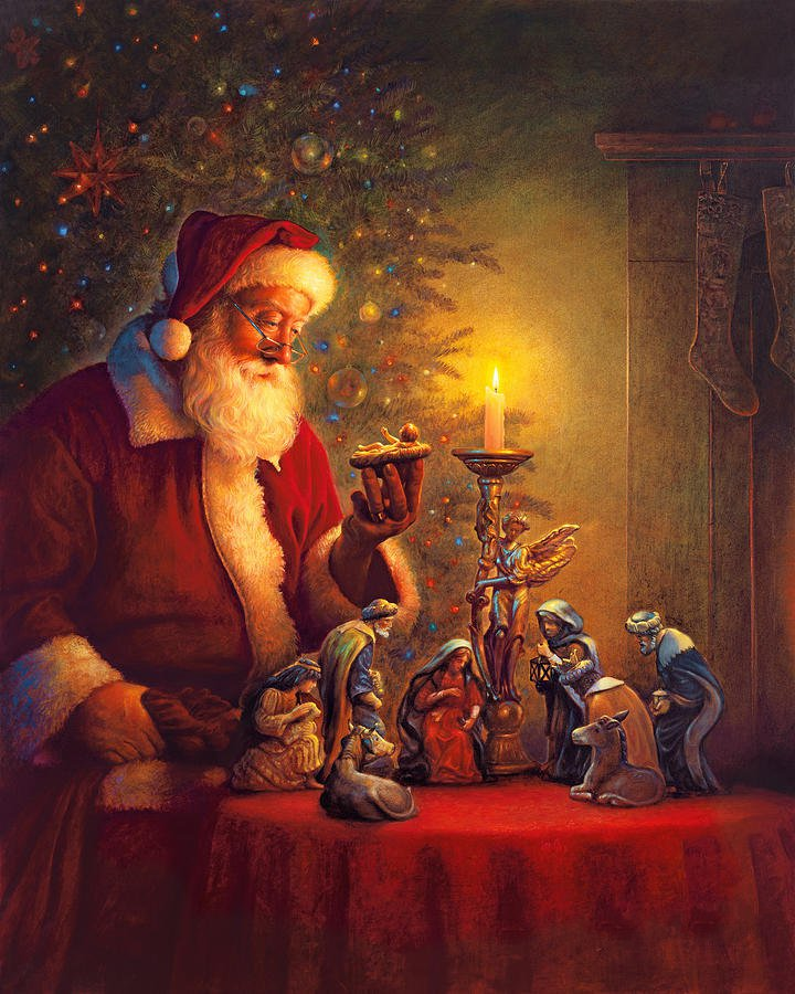JMINE Div 5D árbol de Navidad de Santa Claus pintura de diamante completo punto de cruz kits de arte retrato pintura 3D por diamantes