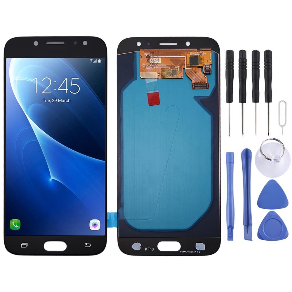 Pantalla LCD de Material Oled y montaje completo del digitalizador para Samsung Galaxy J7 (2017), J730F/DS, J730FM/DS