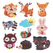 Kits de peinture diamant faciles pour enfants 5D bricolage Kits de diamant peinture par numéros autocollant fait main Arts et artisanat pour les enfants