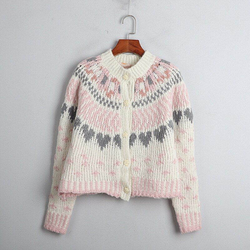 1101 2020   Autumn Sweater Free Shipping Crew  Neck Long Sleeve Kint Pink Fashion Womens Clothes  S m L    dl