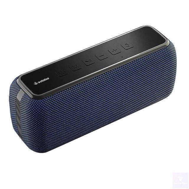 XDOBO-مكبر صوت بلوتوث X8 60 وات ، عمود صوت ستيريو كامل المدى ، مكبر صوت محمول عالي الطاقة ، شريط صوت مقاوم للماء IPx5