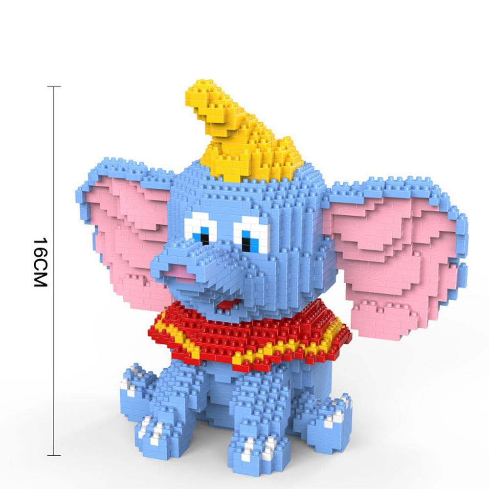 ¡Superventas! Hucha hucha con diseño divertido clásica de lepining, hucha con forma de mini micro Diamante, modelo de bloques de construcción, juguetes de regalo