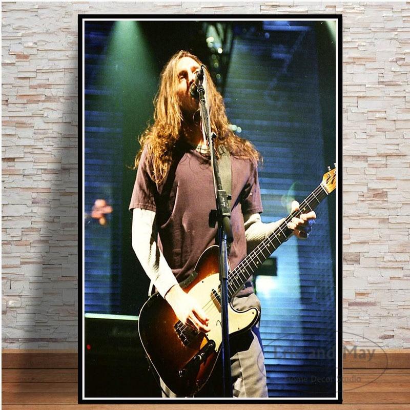 John frusciante rock música estrela pintura em tela cartazes e impressões arte da parede imagem da arte do vintage decoração de casa decorativa tableau