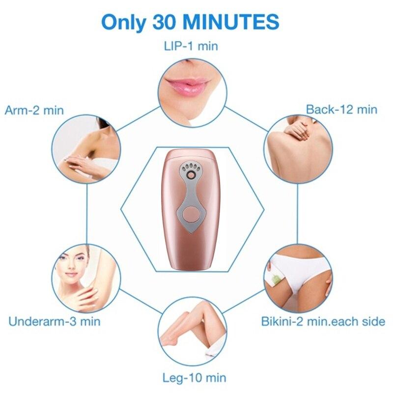 1800000  Flash Permanent IPL Epilator Laser Hair Removal depiladora facial Electric photoepilator Painless Hair Remover dropship enlarge