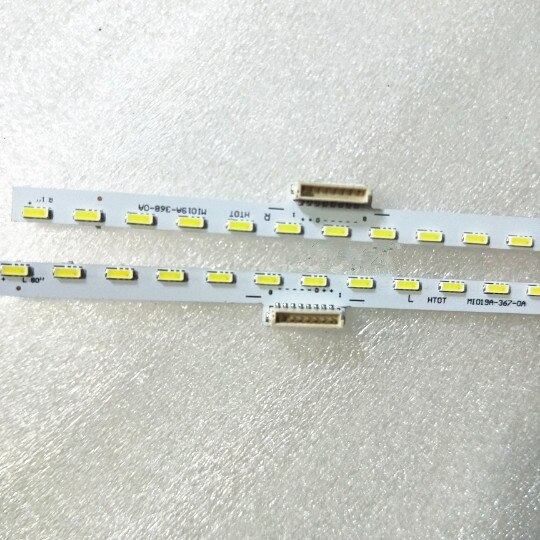 1SET=2PCS LED Backlight strip  For  Xiaomi L55M5-AB MI019A-367 / 368-0A  MI019A-170508-A  1pcs=80LEDS