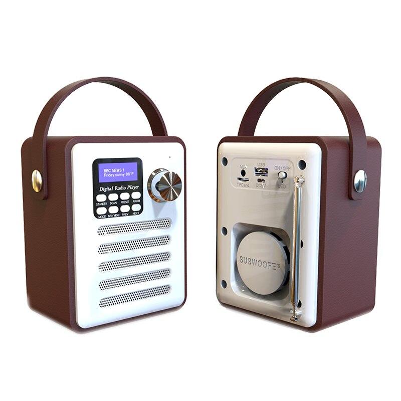 Receptor de Radio Digital Dab/Dab + sintonizador Bluetooth 5,0 Fm retransmisión Aux-In...