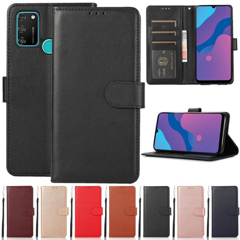 Flip Leather Case for Huawei P8 P9 P10 P20 P30 P40 Lite Pro P Smart Wallet Case For Huawei Y5 Y6 Y7