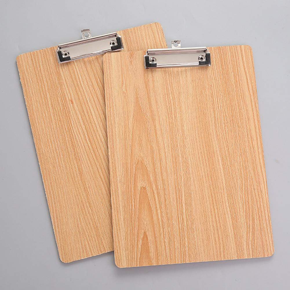A4 Paper Clipboard Folder Storage Writing Pad Board Clamp Book Clip Pad Folding File Clipboard Office Stationery School Supplies vodool 31 5 19 8cm portrable wooden file clipboard folder student school writing plate office supplies stationery folder
