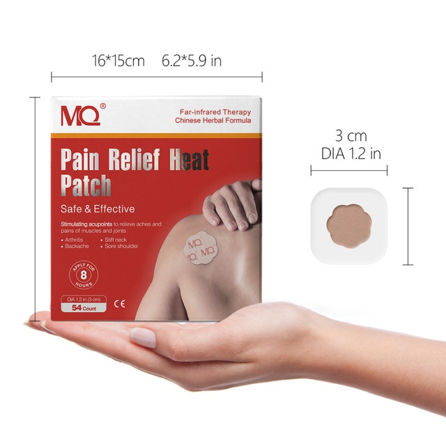 54pcs analgesic patch stimulates acupoints to relieve pain in the neck, shoulder, back, hip joint muscles, knees and feet 10