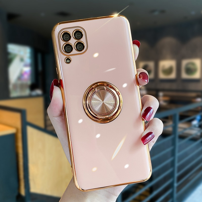 Luxury Soft Plating Silicone Case For Huawei P40 Lite Pro P40Lite P40Pro P 40 Phone Magnetic Cover W