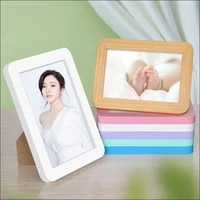 classic wooden picture photo frame plexiglass include poster frames wall frame family birthday gift decoration for wall hanging