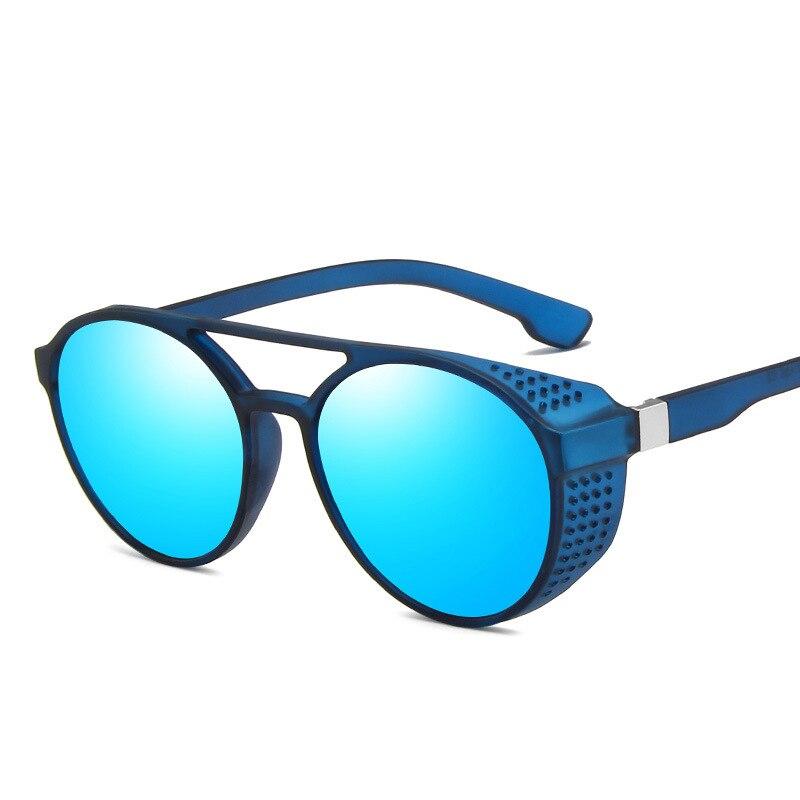 RMM Retro Round Sunglasses Men Women Brand Designer Glasses Vintage sunglasses Shades UV Protection